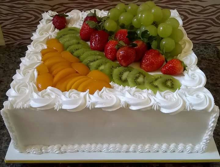 Tropical Cake By Antoni Azocar Com Imagens Bolo Decorado Com