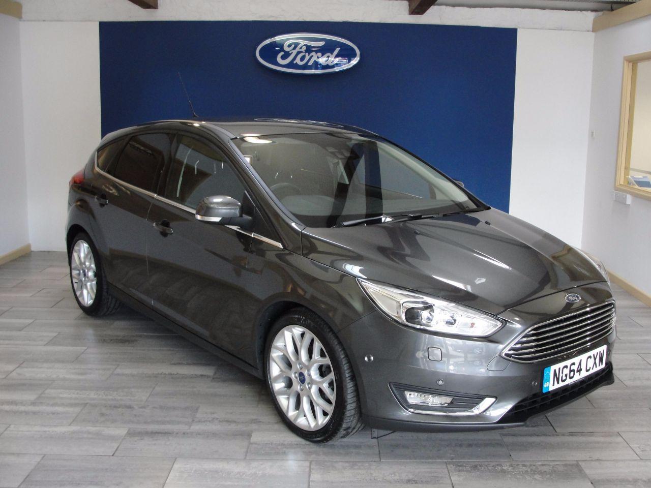 Ford Focus 1 0 Ecoboost 125 Titanium X 5dr Hatchback Petrol Grey
