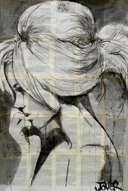 "Saatchi Online Artist Loui Jover; Drawing, ""lagoon"" #art"