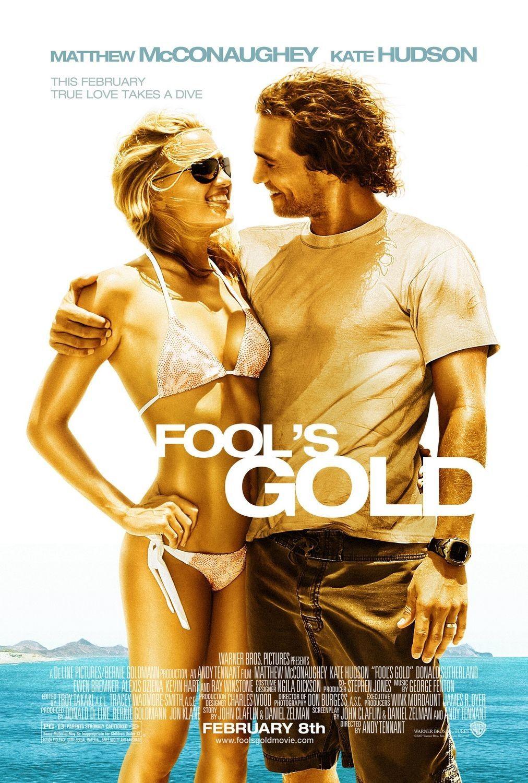 Risultati immagini per FOOL'S GOLD ( 2008 ) poster