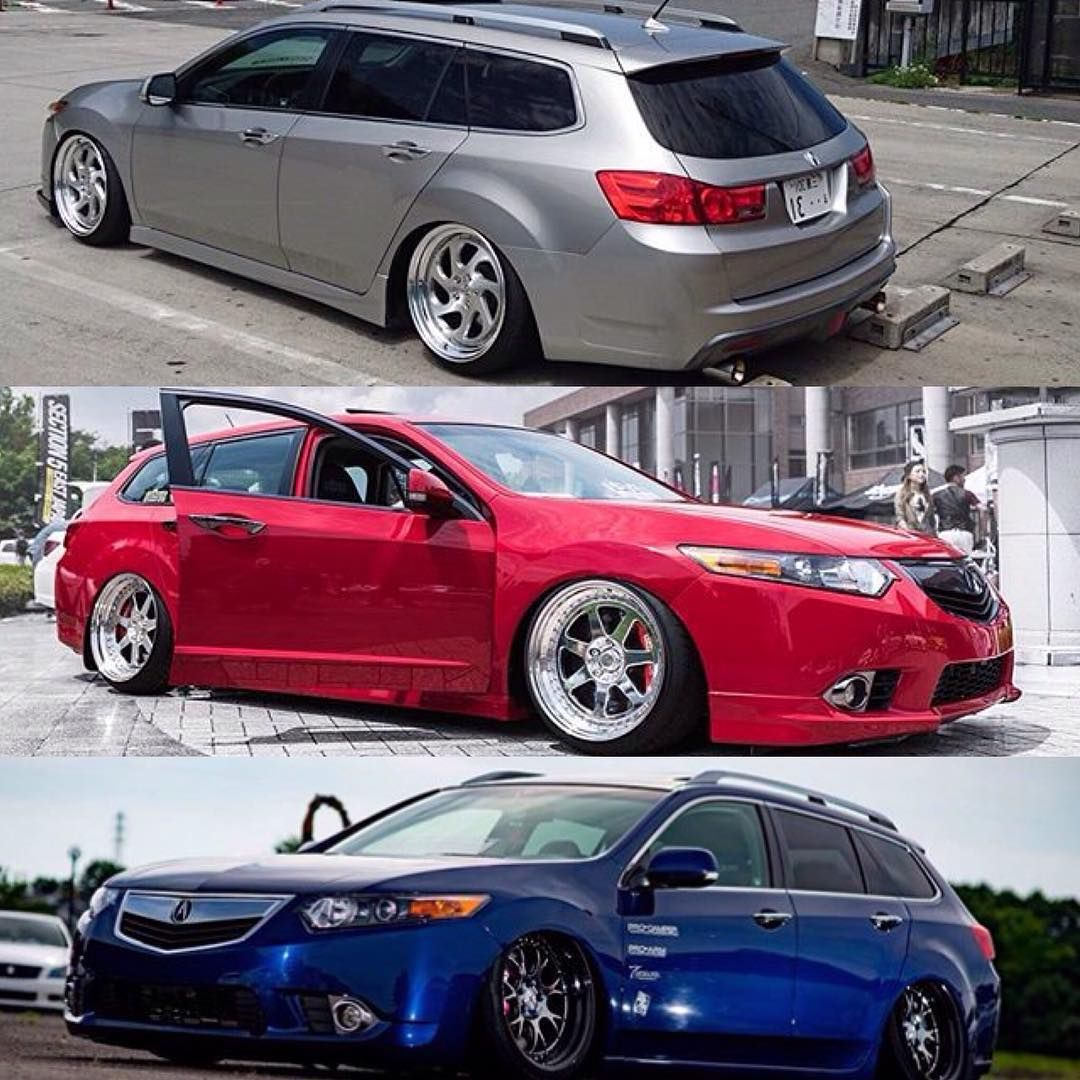 Honda Accord Tourer Converted To Acura TSX Wagon Even