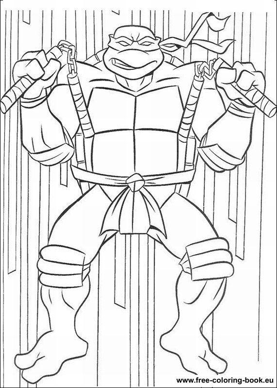 TMNT Coloring Pages | Coloring pages Teenage Mutant Ninja Turtles ...