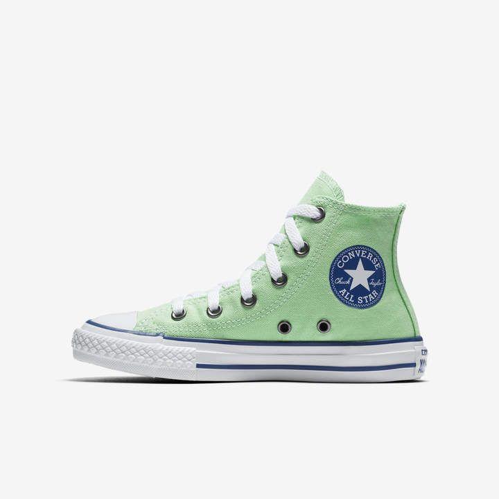 26c08ba12ba30a Converse Chuck Taylor All Star Seasonal High TopLittle Big Kids  Unisex Shoe