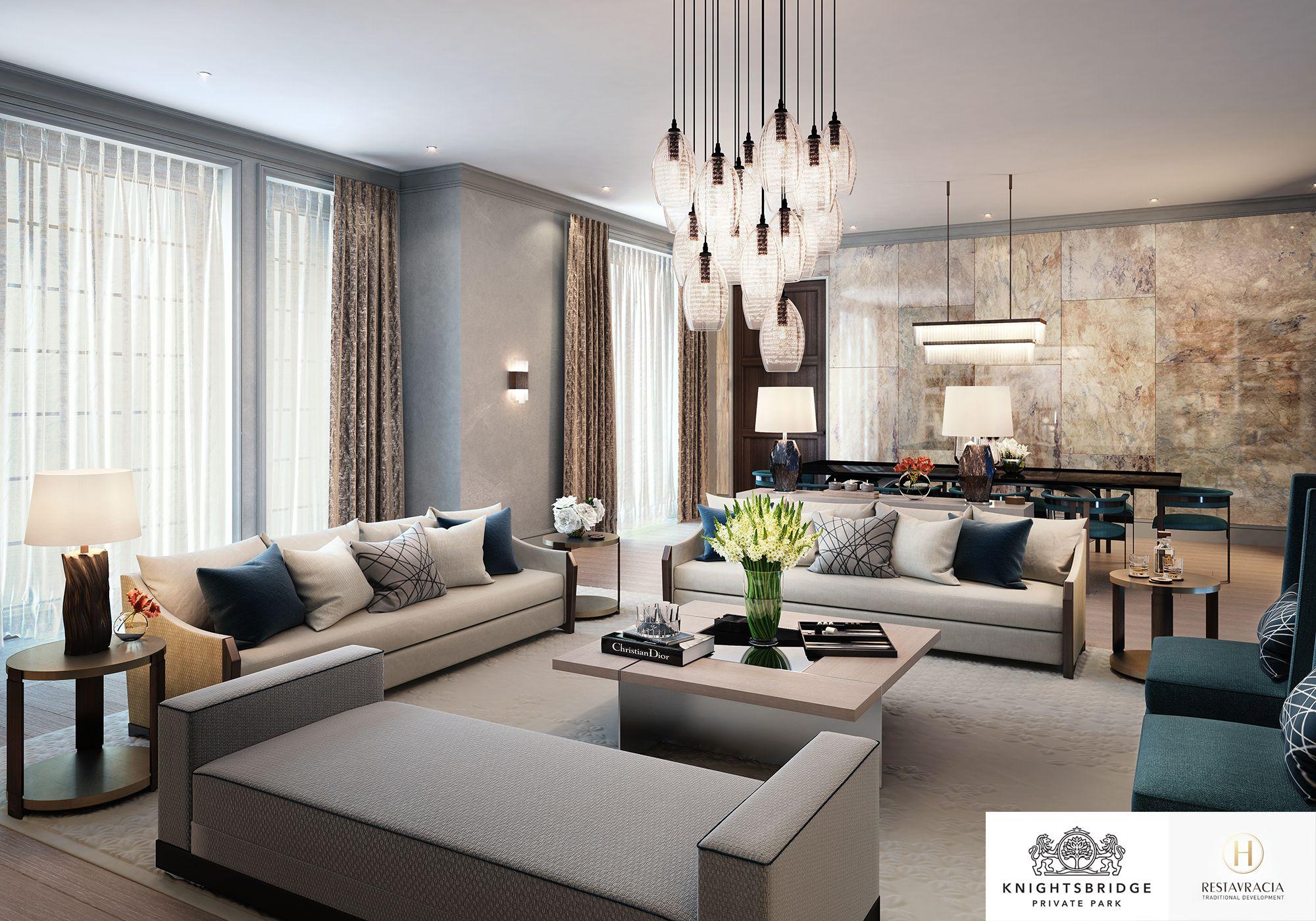 Interior Design Focus - Knightsbridge Private Park, Moscow ...