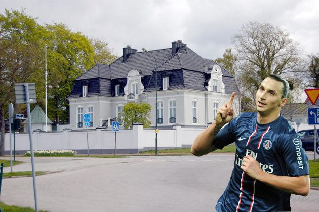 Zlatan Ibrahimovic S House In Sweden World Of Sports Online Business Marketing Sweden House