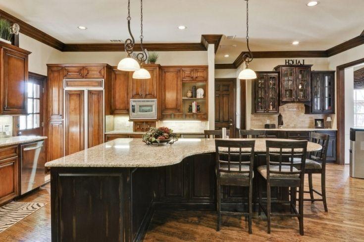 Design Inspiration Freestanding Kitchen Islands: Inspirational Irregular Shaped Kitchen Islands