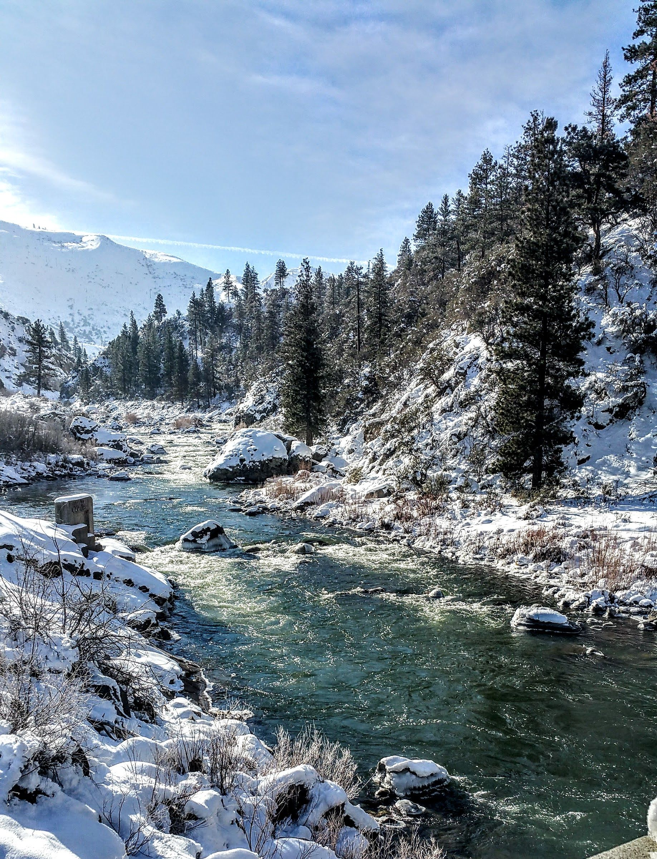 Beautiful Truckee River In The Winter 2017 Krogmanrealtor