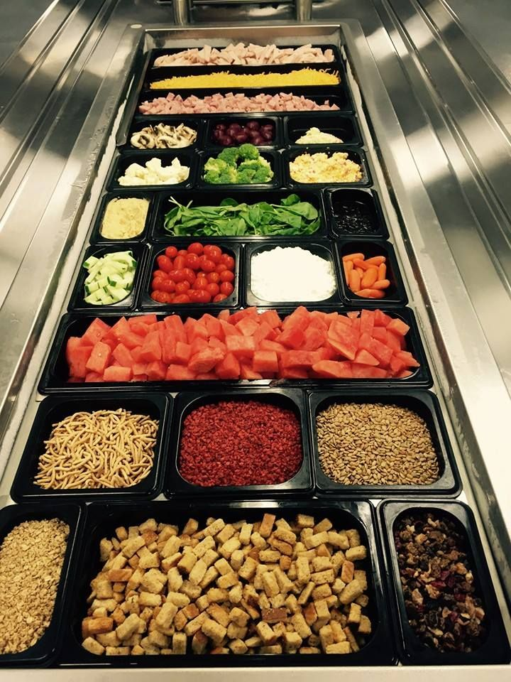 This fantastic salad bar is from Bradley County Schools Child ...