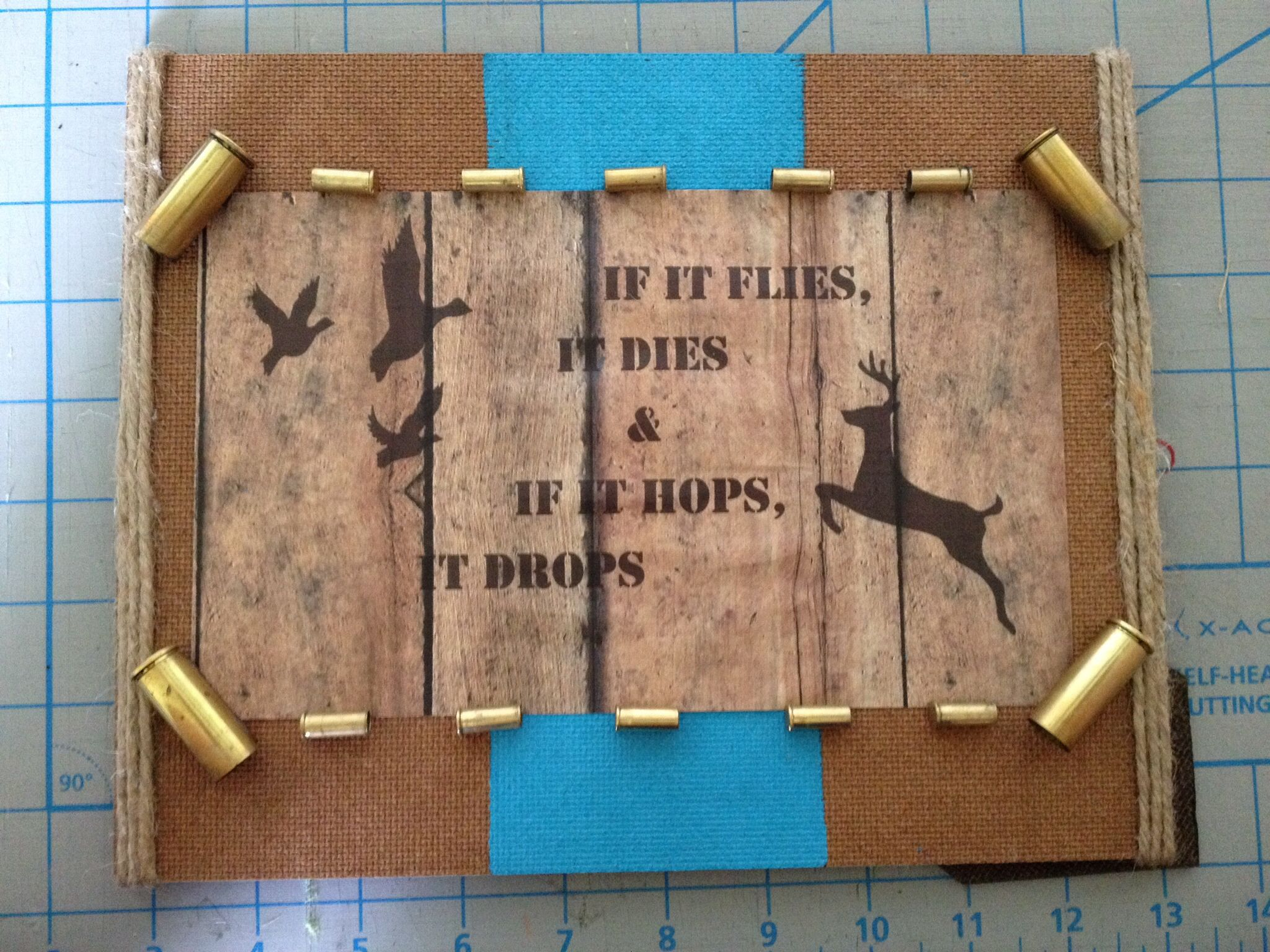 Sign For Hunting Themed Baby Room
