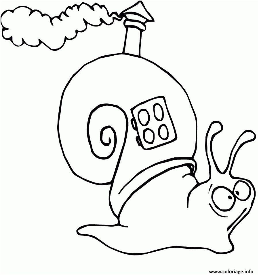 12 Elegant Coloriage De Hugo L Escargot Image Di 2020