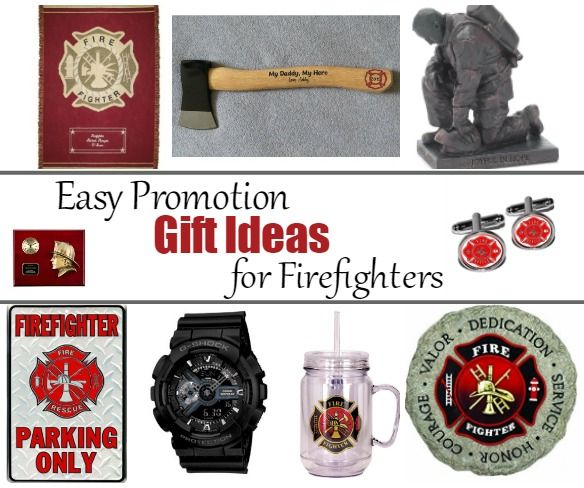 Easy Promotion Gift Ideas For Firefighters Promotional Gifts Firefighter Gifts Firefighter