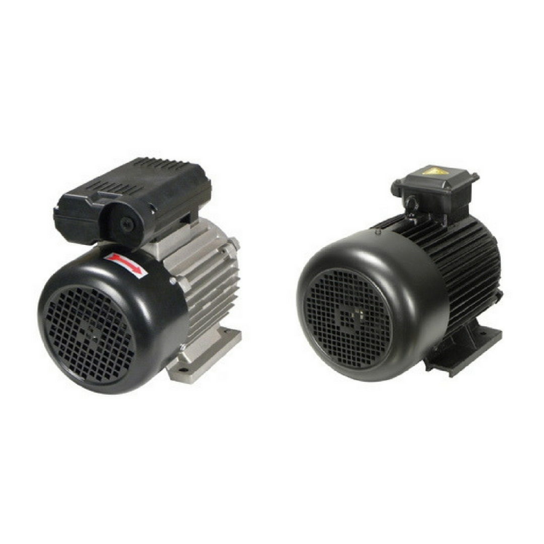 Do you need single or three phase air compressor motors?