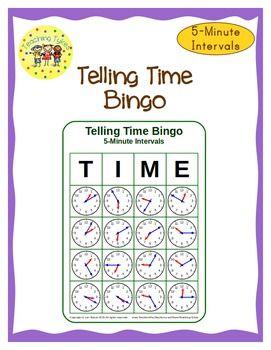 time bingo to 5 minutes