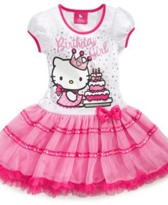 b5c44dc51f51e Flash Sale! hello kitty birthday tutu Price: $39.99, Free Shipping ...