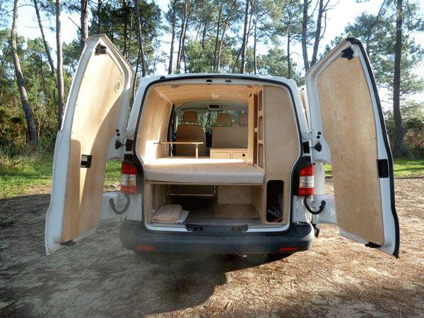 VW T5 Mickaël aménagement vehicule de loisirs