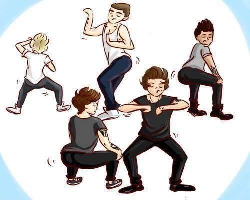 Cartoon 1d Twerking You Re Welcome One Direction Cartoons One Direction Fan Art One Direction Humor