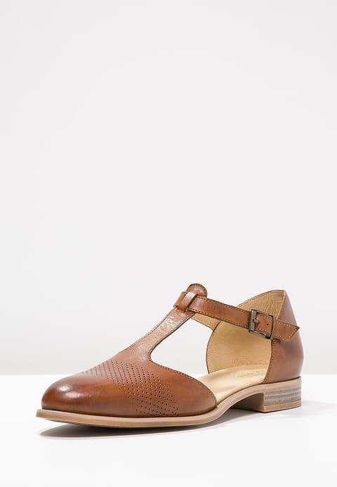 best website 44293 4005f Riemchenballerina - cognac @ Zalando.de 🛒 | shoes | Flats
