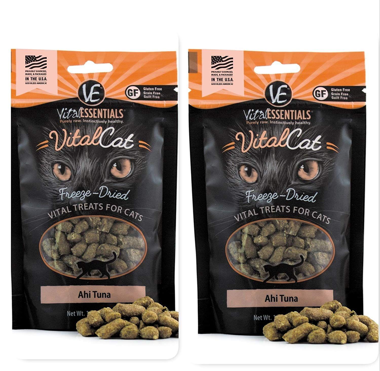 Vital Essentials FreezeDried Raw Cat Treats Ahi Tuna