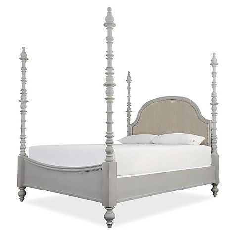 Blakely 4 Poster Spindle Bed Gray One Kings Lane Four