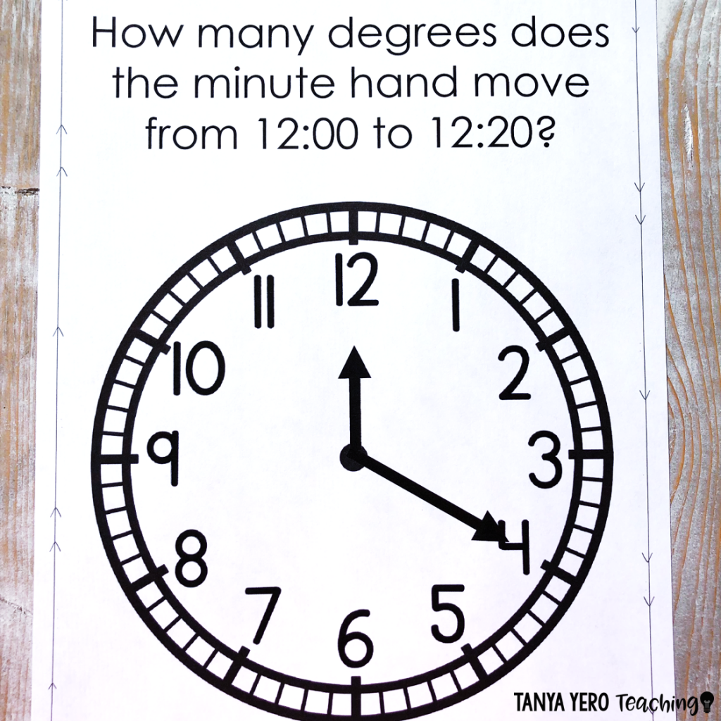 How To Conceptually Teach Degrees In A Circle Teaching 4th
