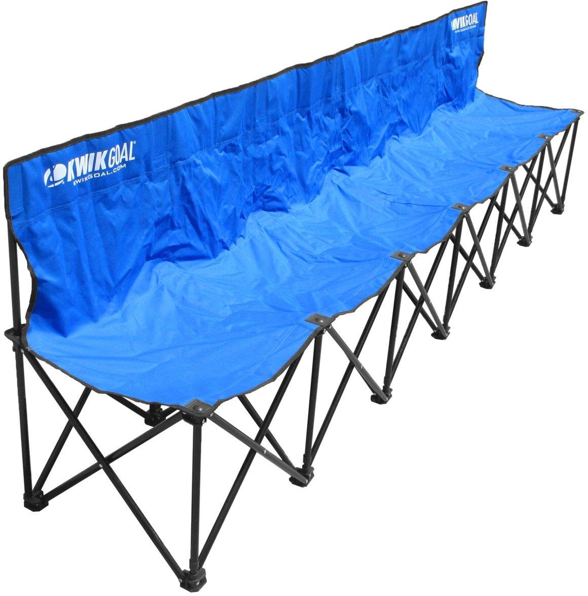 Sensational Kwik Goal 6 Seat Kwik Bench Folding Soccer Bench 9B906 Dailytribune Chair Design For Home Dailytribuneorg