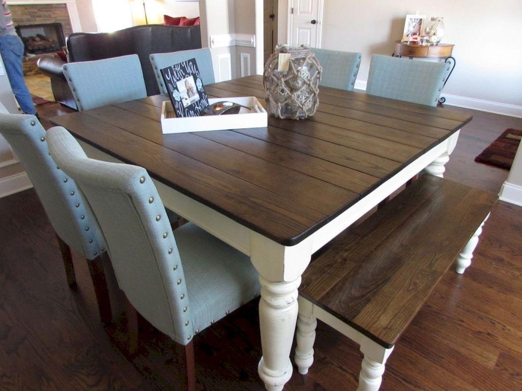 55 brilliant farmhouse kitchen table design ideas and makeover farmhouse table plans on farmhouse kitchen table diy id=49137