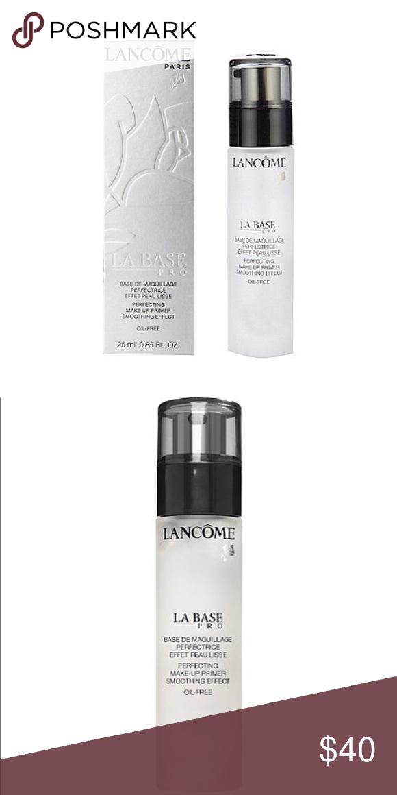 Lancôme La Base Oil Free Primer Benefits •Refines skin's