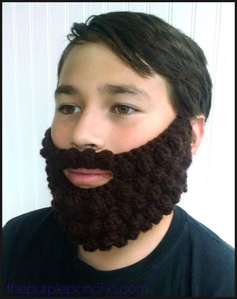 Crochet Bobble Beard Review – Free Pattern | Pinterest | Free ...