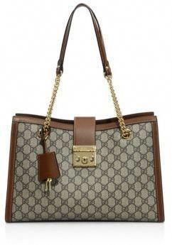 71cbca6a1 Gucci Padlock GG Supreme Canvas Shoulder Bag #Handbagsmichaelkors. Visit.  March 2019