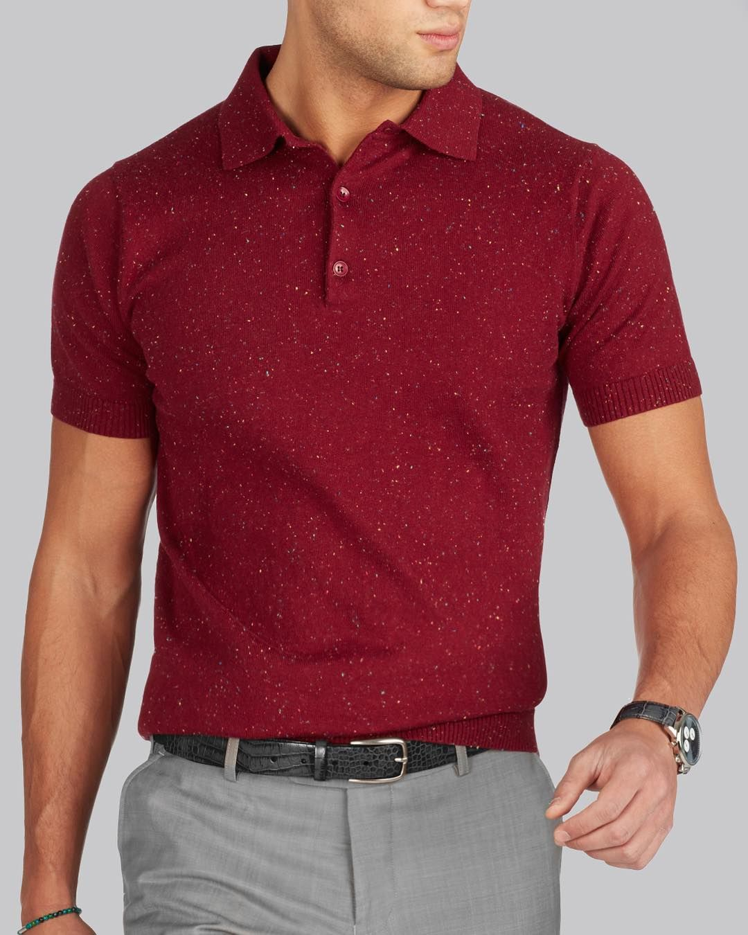 Short sleeve polo shirts, perfect for spring and summer ...