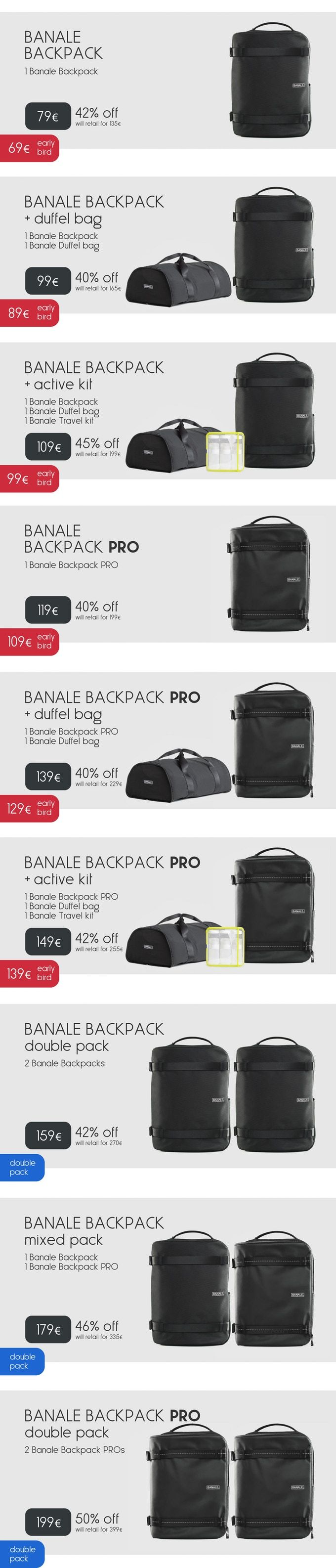 21839b40101 Banale Backpack: a new category of urban backpack by Banale ...