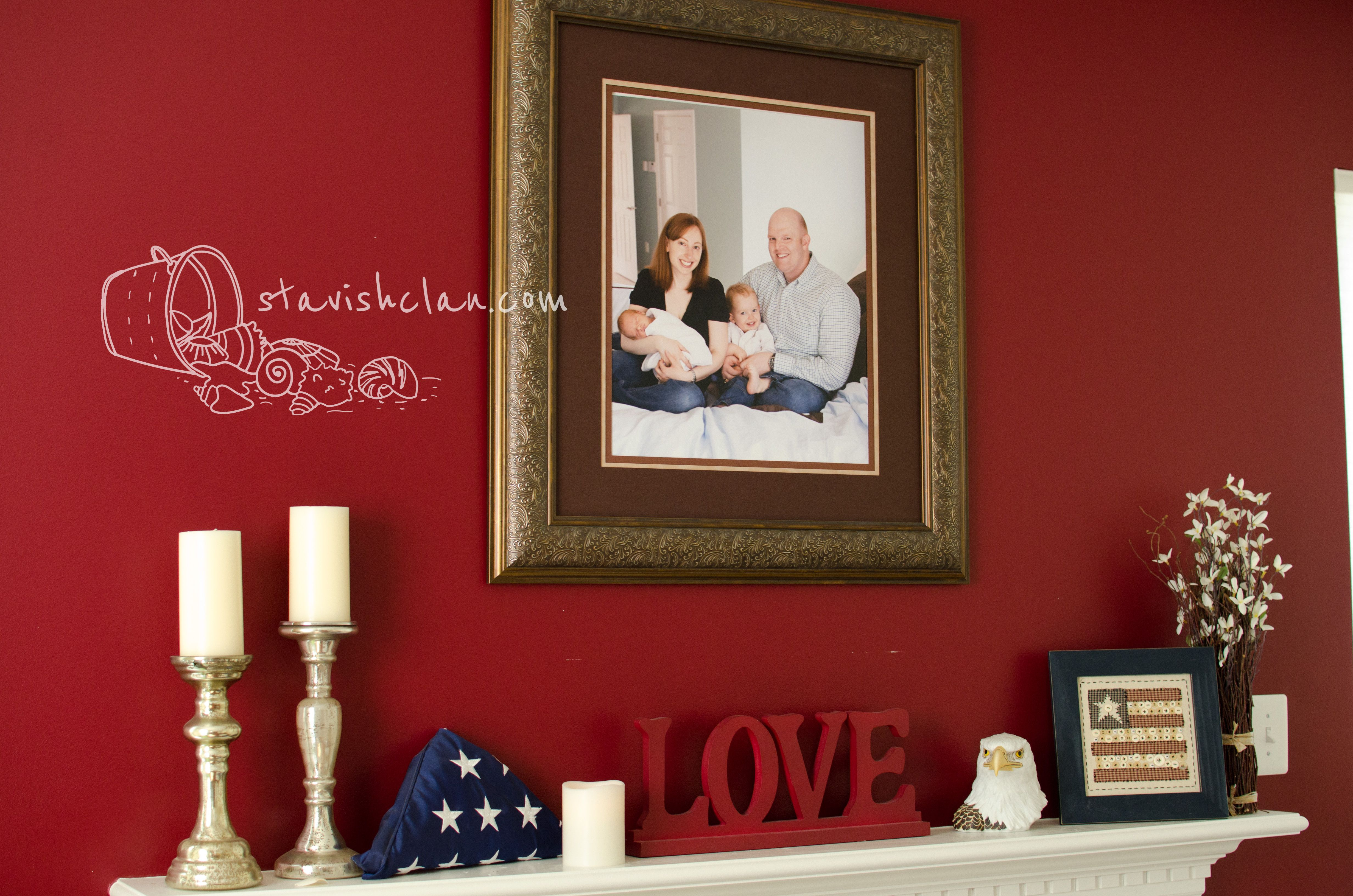 Americana Decor Living Room