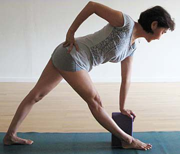 yoga pose of the day  revolved triangle pose  triangle