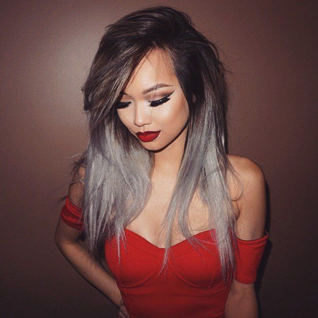 The Grey Hair Trend Is Huge For Spring Summer 2016 Different Hair