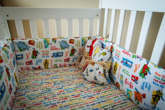 Dr Seuss Baby Bedding Crib Set Cat In