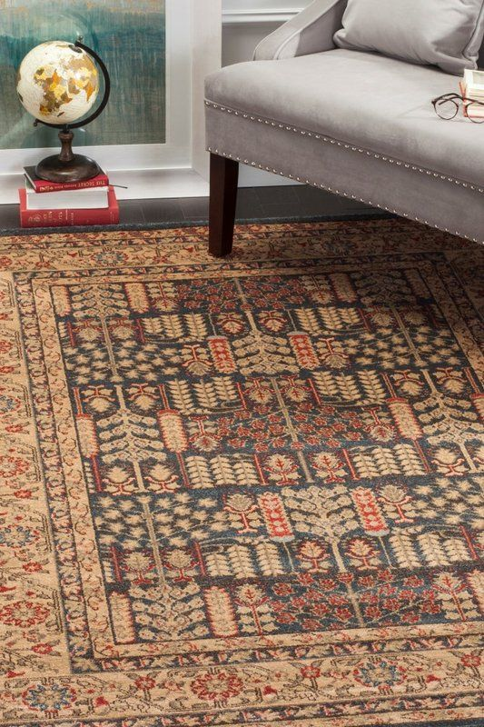 Coleraine Brown Area Rug Area Rugs Rugs Brown Area Rugs