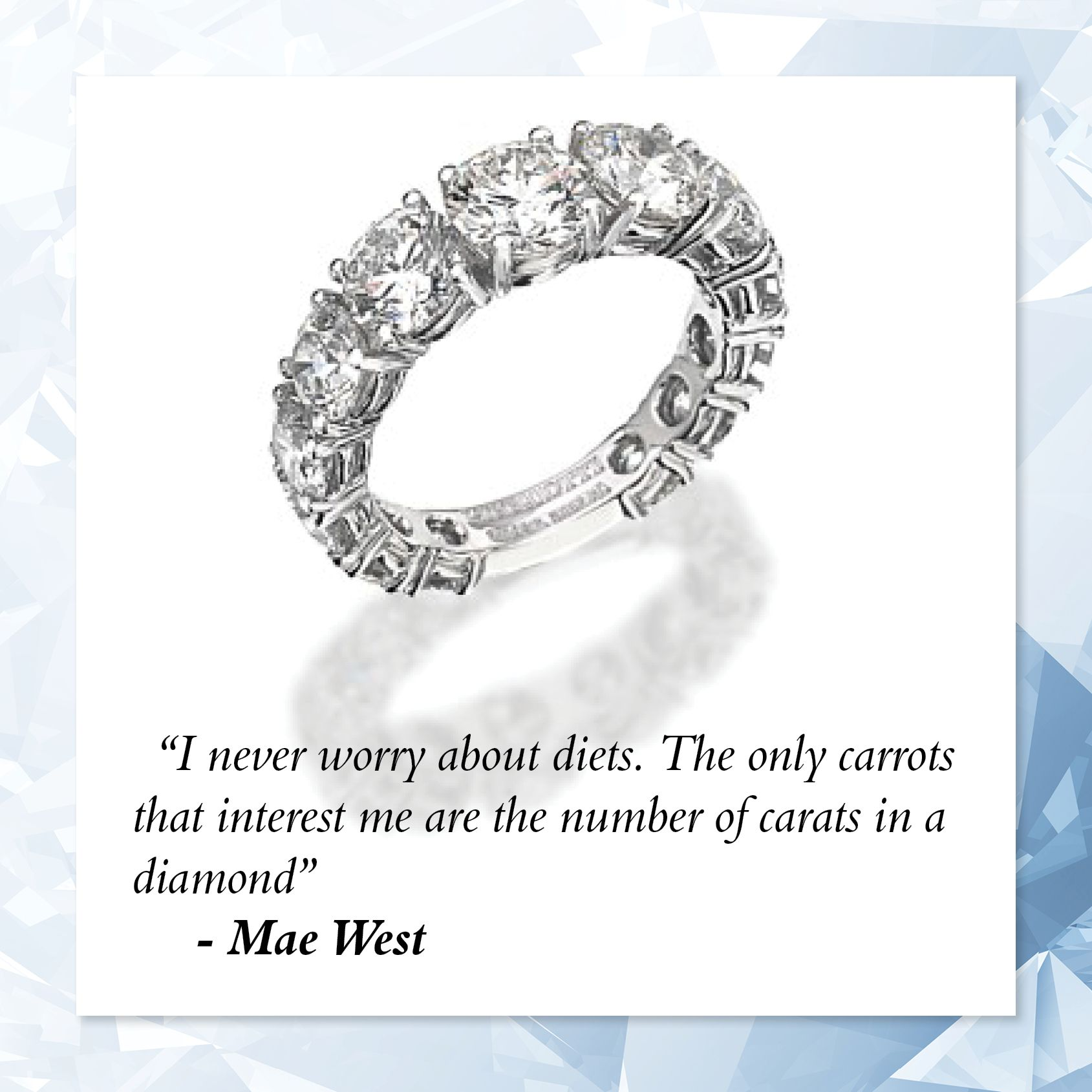 Diamond Quotes Inspirational Jewellery Quotes  Jewellery Trends & Inspiration
