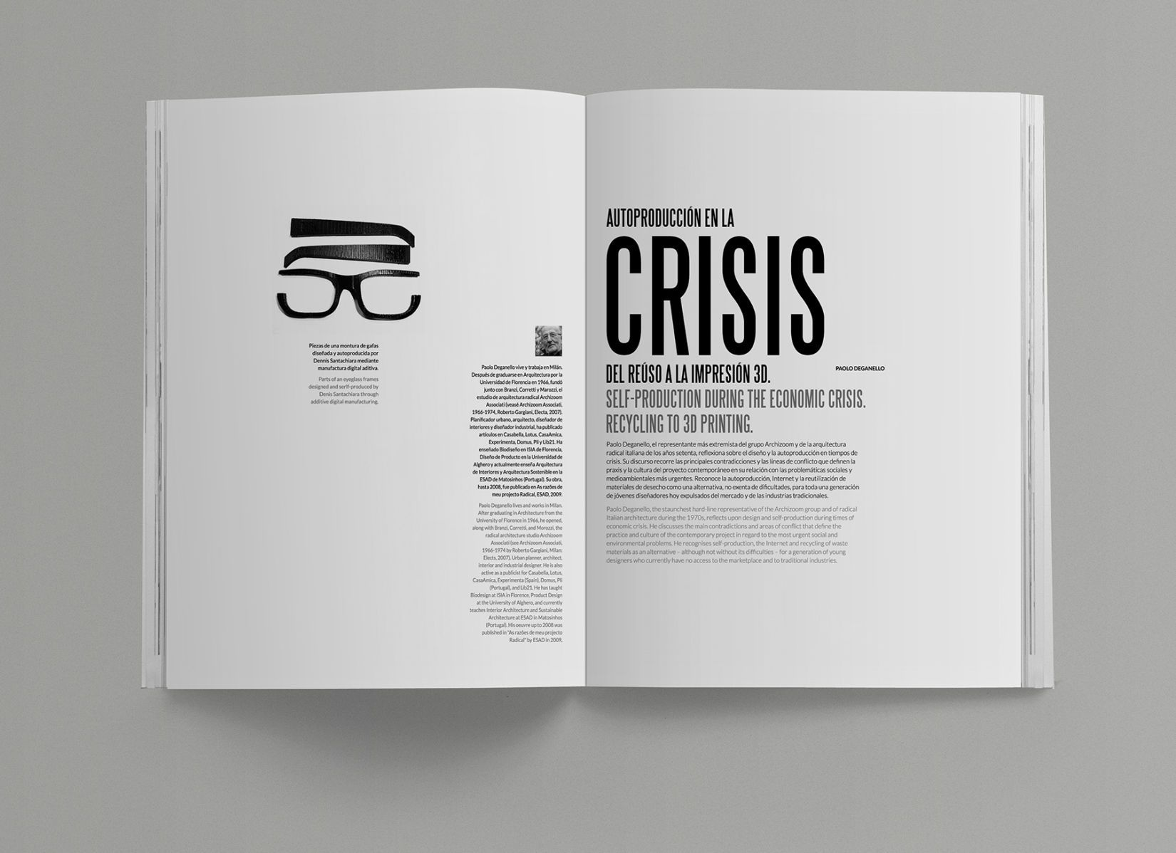 CRISIS-EXPERIMENTA-66 | G | Editorial | Pinterest | Diseño editorial ...