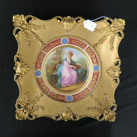 Royal Vienna Porcelain Handpainted Plate