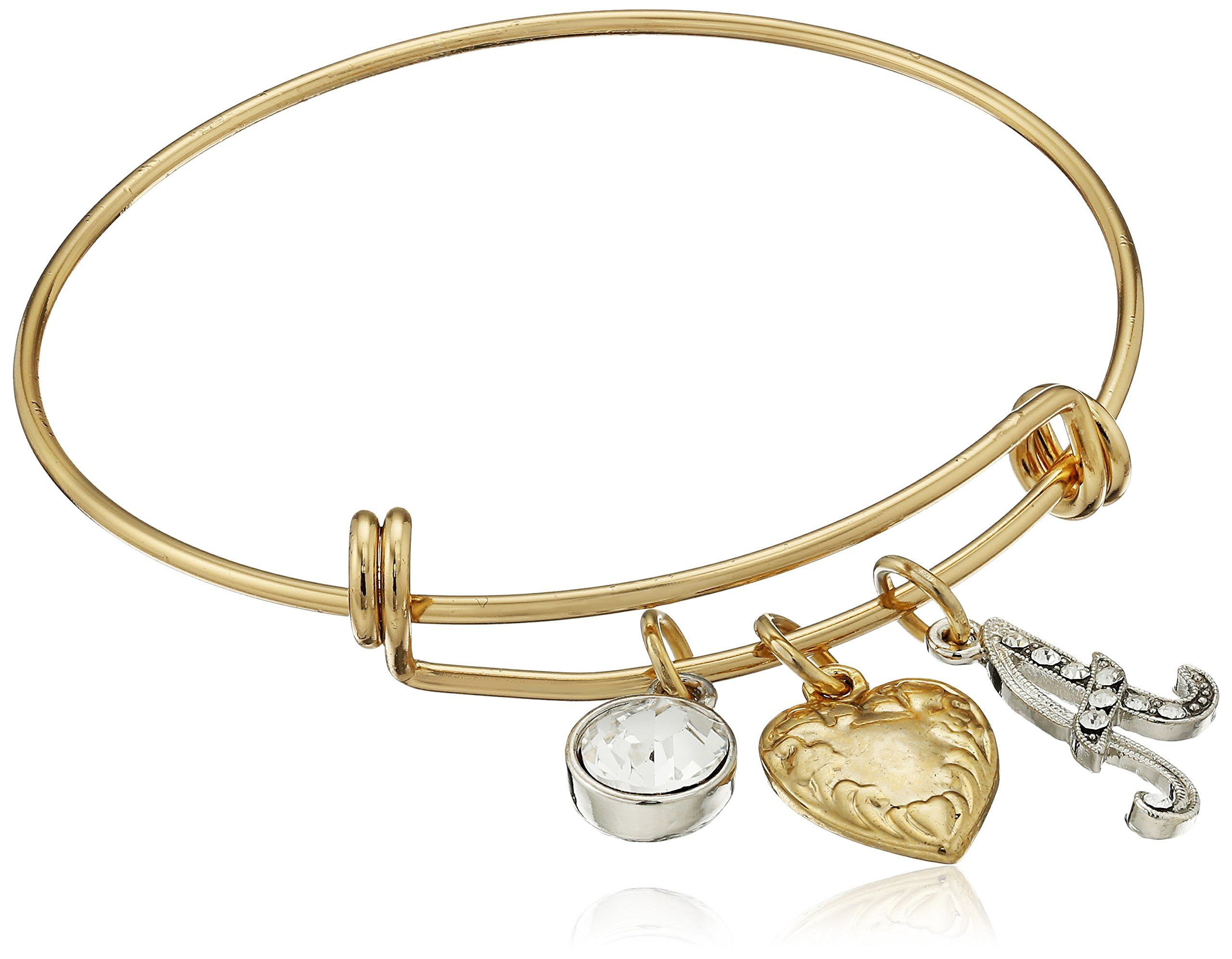 charm bracelets bangle bangles the bracelet around gold world