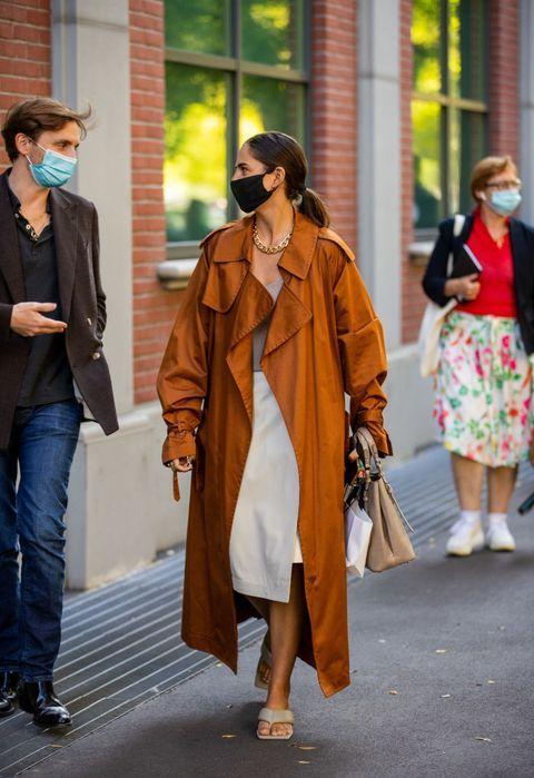 """""""L'Autunno sarà all'insegna di giacche oversize"""", lo street style della Milano Fashion Week conferma"""