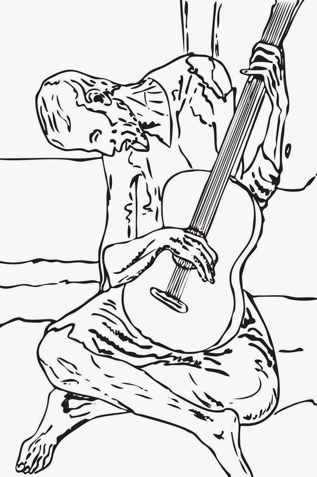 El guitarrista - Picasso | Projecte el Retrat i PICASSO | Pinterest ...