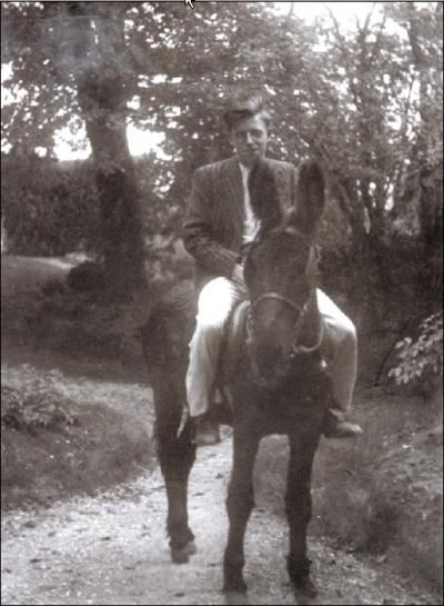 Foucault On A Donkey During The Occupation Continental