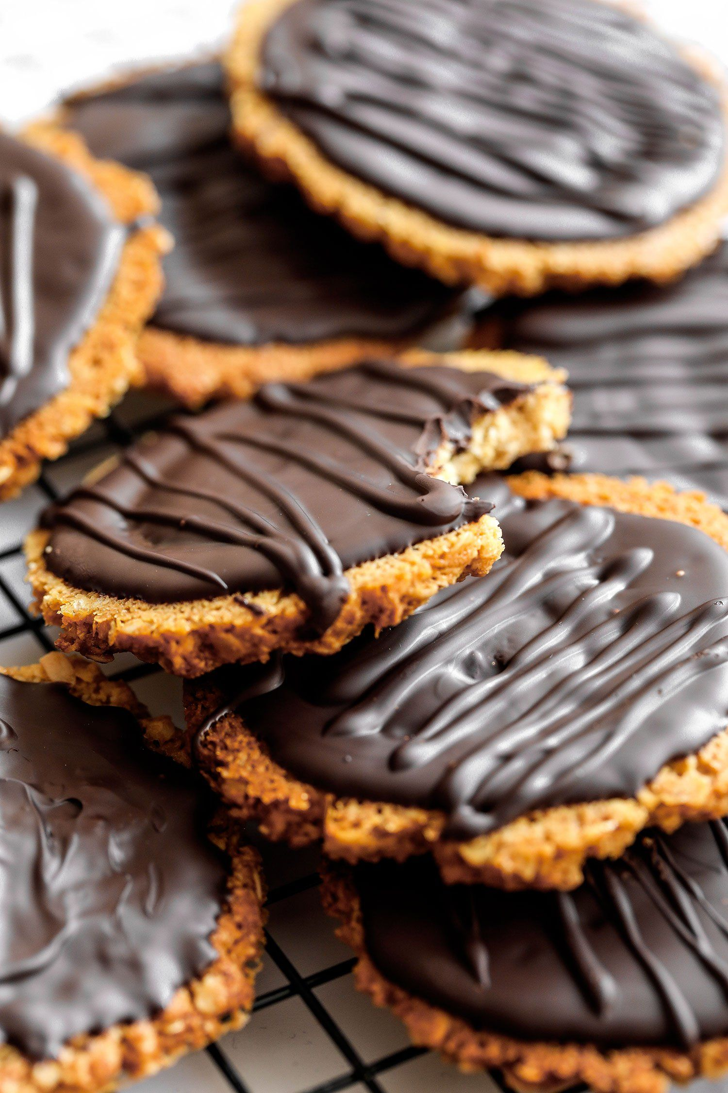 Homemade Chocolate Hobnobs Vegan Gluten Free Recipe Cookies