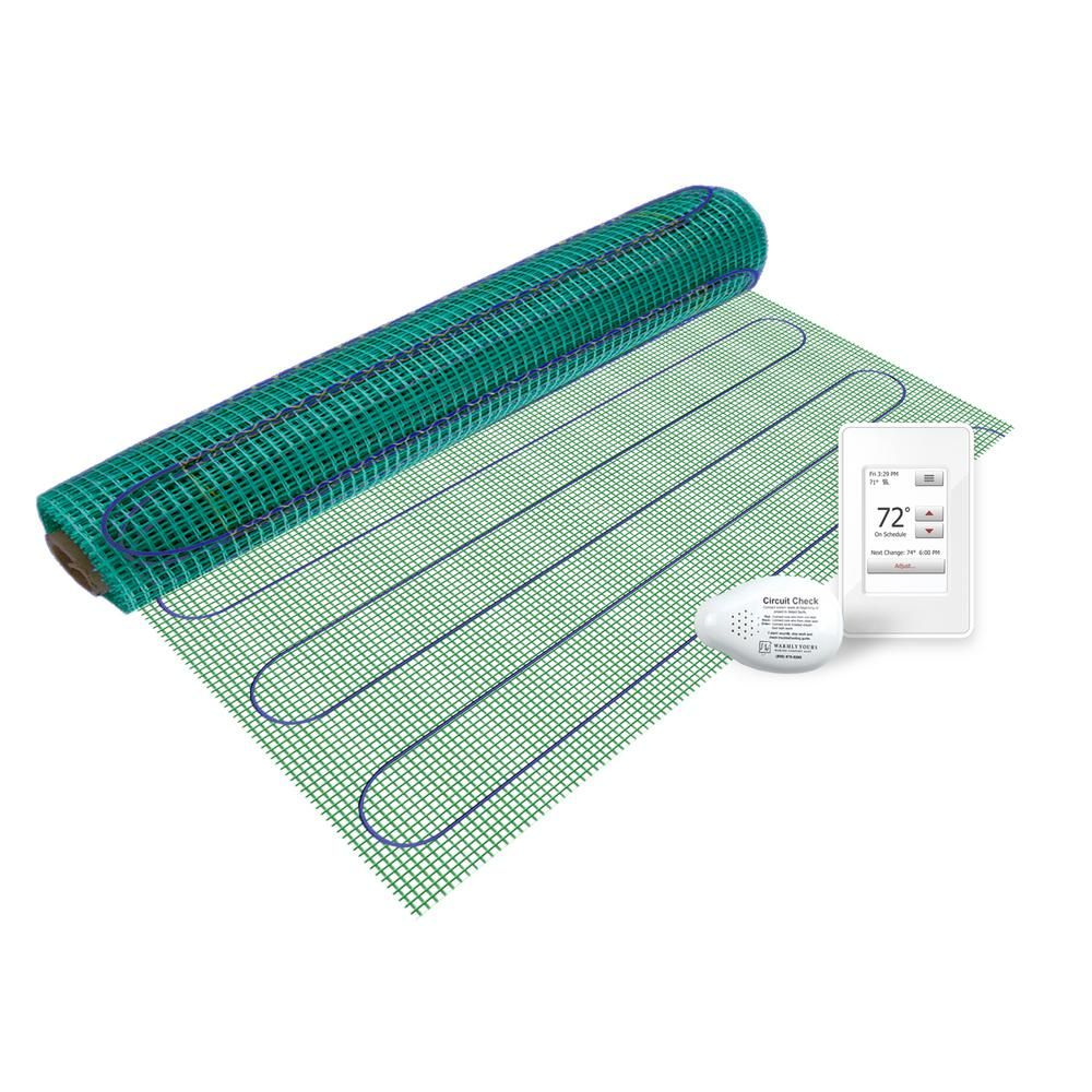 Warmlyyours Tempzone 3 Ft X 36 In 120 Volt Radiant Floor Heating Kit Covers 9 Sq Ft Trt120ot 3 0x03 The Home Depot In 2020 Radiant Floor Heating Radiant Floor Floor Heating Systems