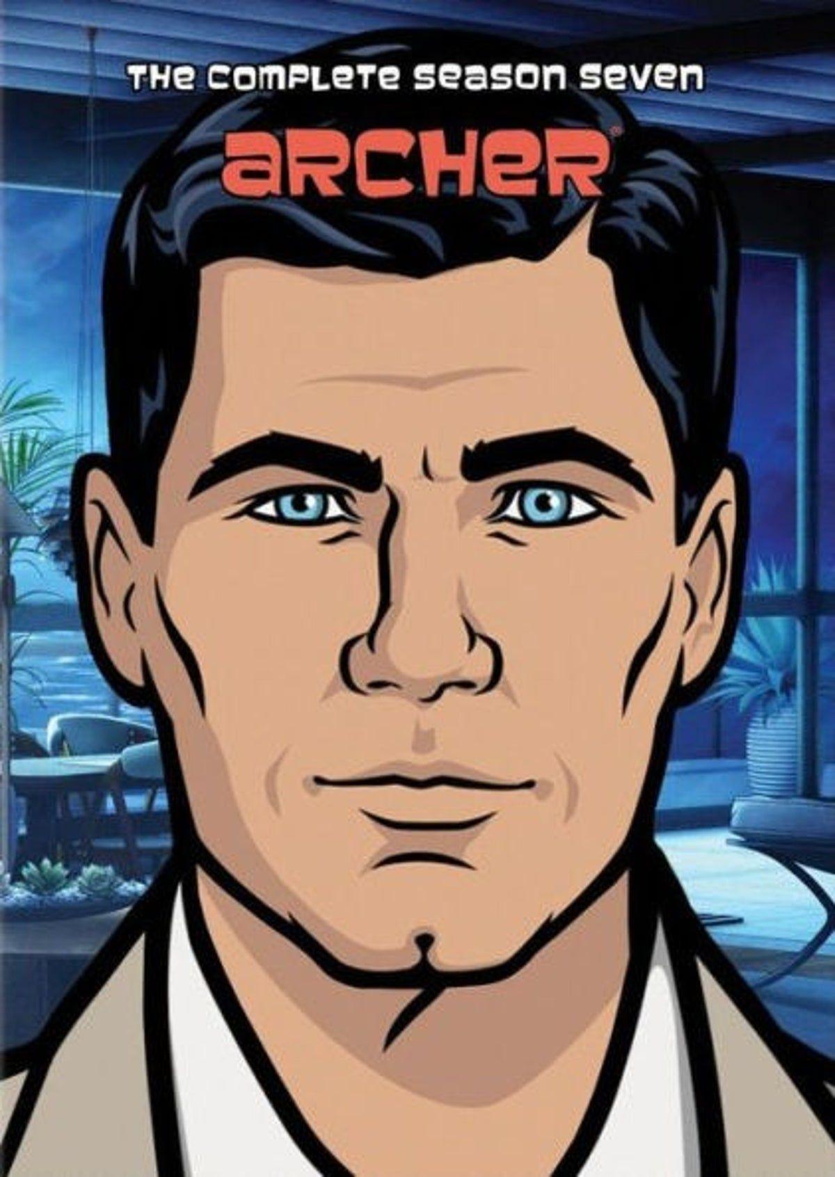 Archer Season 7 DVD (New) Archer tv show, Season 7, Archer