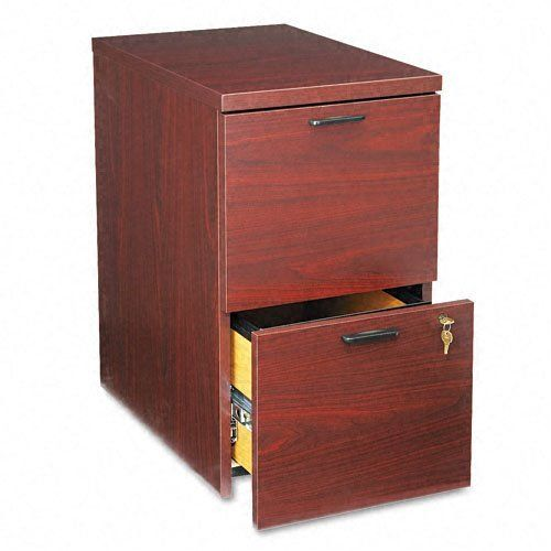 Hon 105104nn 10500 Series 28 Inch Mobile File Pedestal Mahogany By Hon 391 31 Straight Edges Provide A Mobile Pedestal Filing Cabinet Home Office Furniture