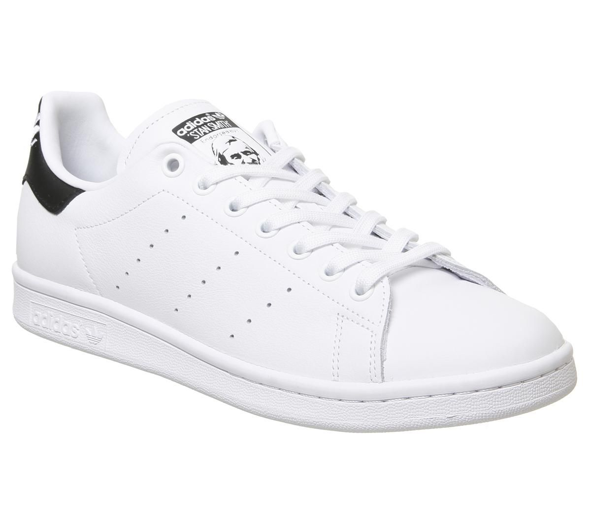 adidas Stan Smith Trainers White Black White - His trainers