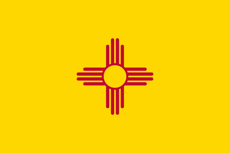 File Flag Of New Mexico Svg Wikipedia The Free Encyclopedia New Mexico Flag New Mexico Usa New Mexico State Flag