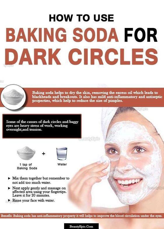 How to Use Baking Soda for Dark Circles Under Eyes ...